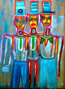 `The Musketeers´by Sophie Dunér ©